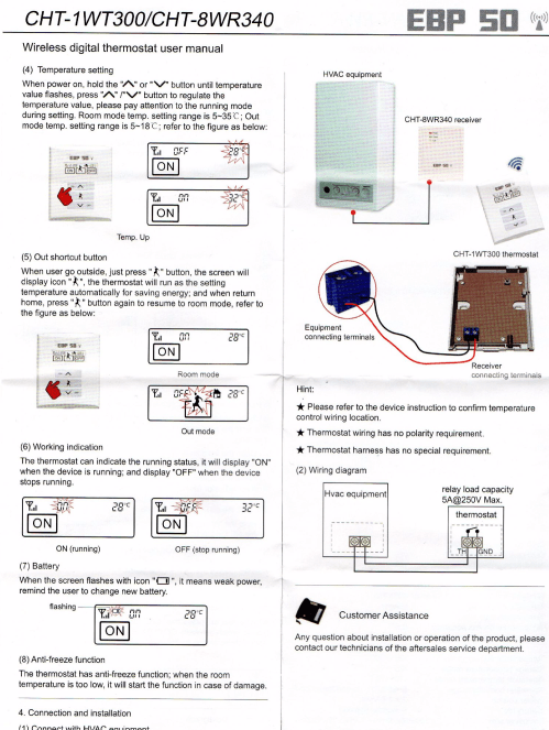 small resolution of room thermostat wiring diagram